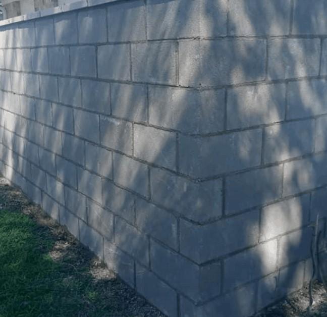 Brick wall in Galveston, TX
