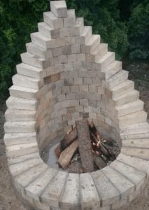 Custome Masonry Firepit